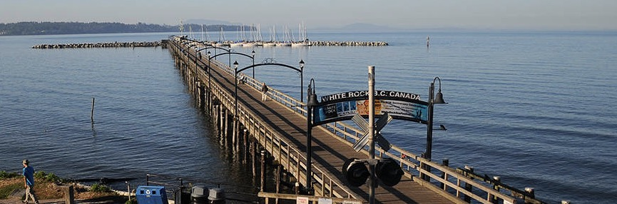 drowning at White Rock Pier