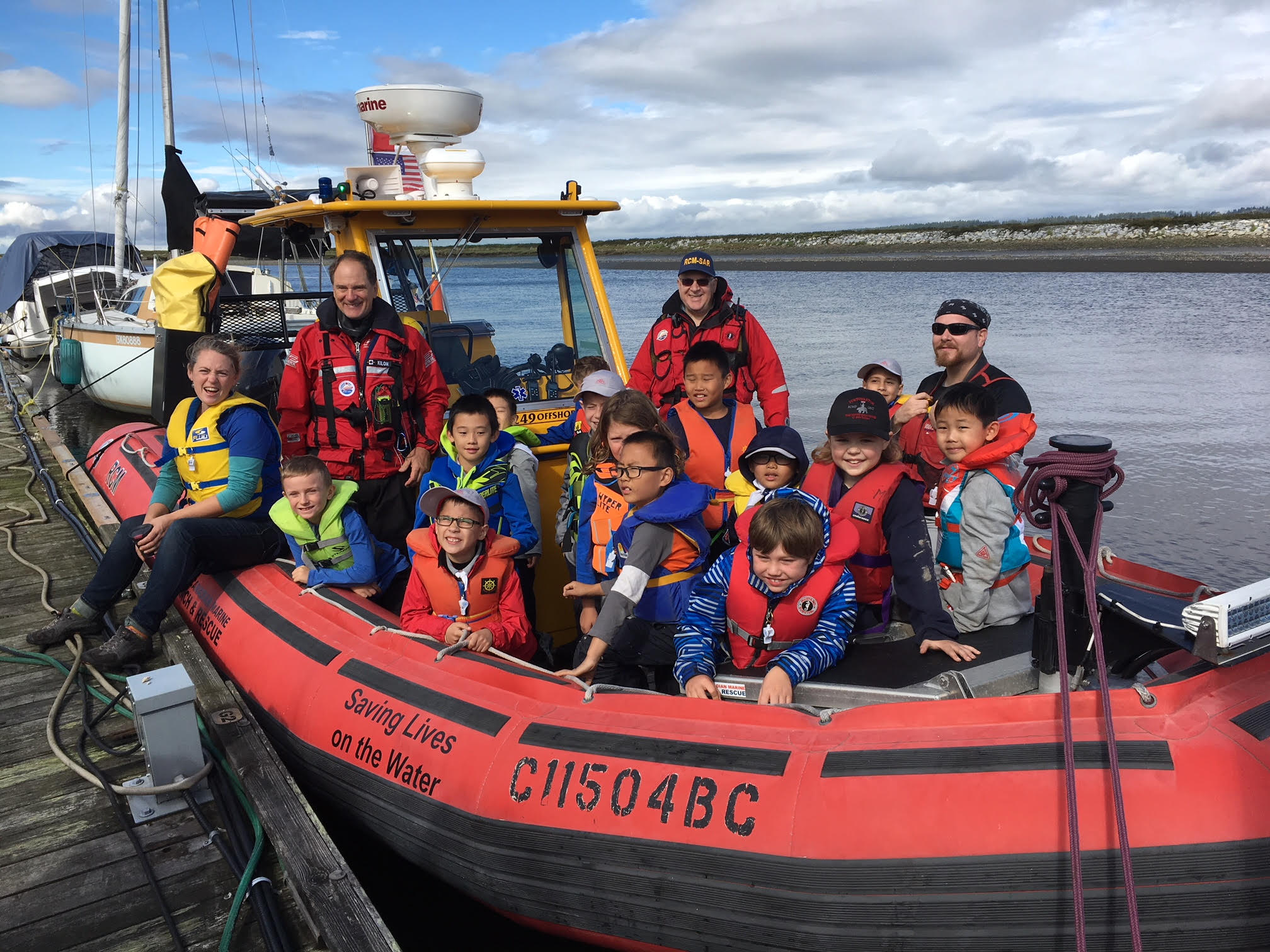 sea scouts learn water safety